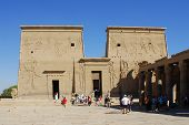 image of aswan dam  - PHILEA TEMPLE - JPG