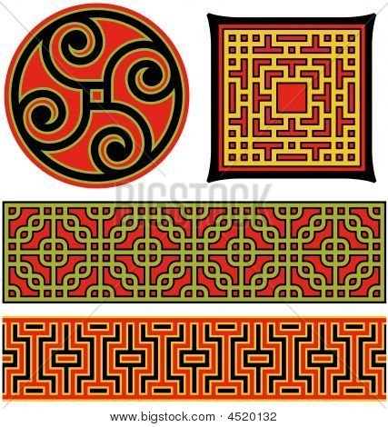 Chinese Graphic Elements