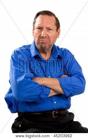 Mürrisch, launisch Senior