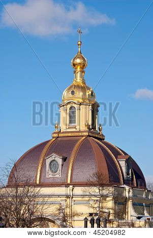 Dome of cathedral.