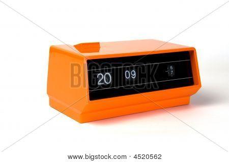 Despertador laranja