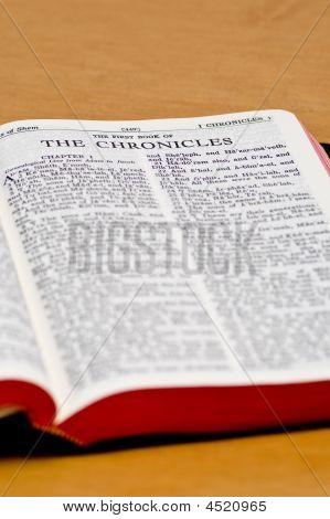 Bible Page - Chronicles