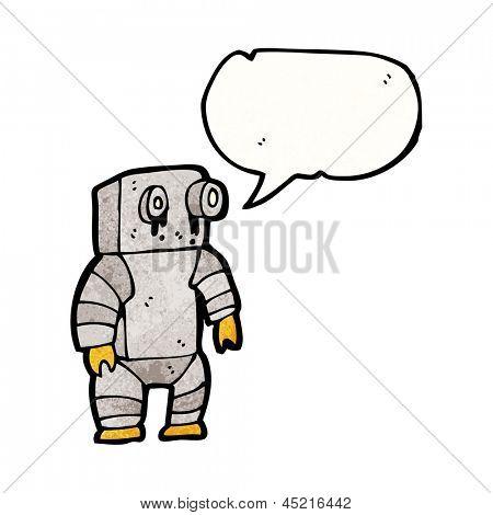 leaky old robot cartoon