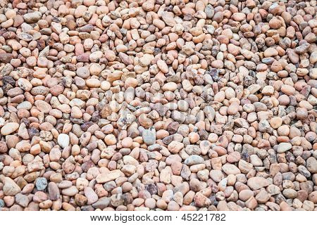 Brown Pebble Floor Background Texture