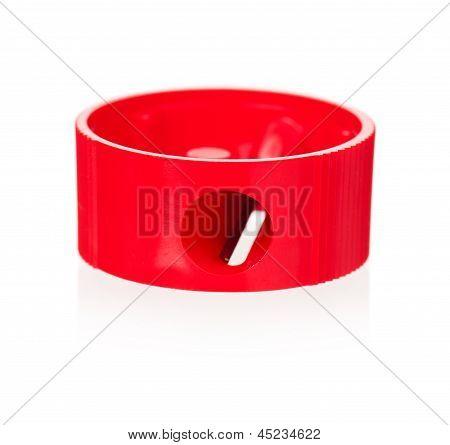 Red sharpener