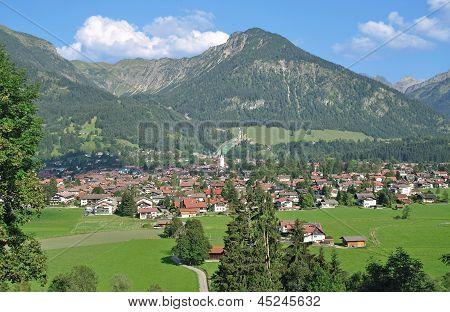 Oberstdorf im Allgaeu,Bavaria,Germany