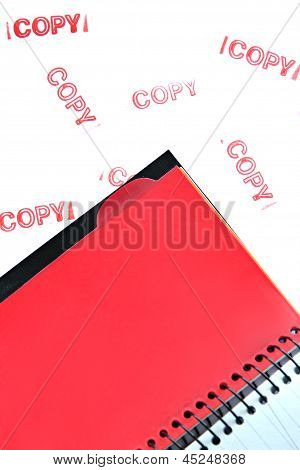 Red Notebook.