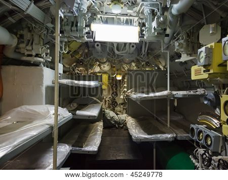 aft compartment submarines
