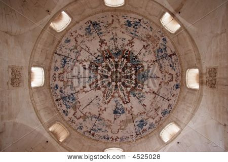 Mosque Dome Of Ishak Pasha Palace, Turkey