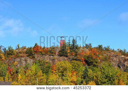 Autumn In Phoenix Copper Mine Country