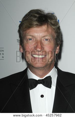 LOS ANGELES - APR 10: Nigel Lythgoe at the Academy of Television Arts & Sciences celebration of the 31st Annual College Television Awards in Los Angeles, California on April 10, 2010.
