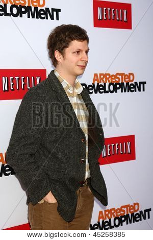 LOS ANGELES - APR 29:  Michael Cera arrives at the