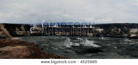 Pan Crater Kilouea