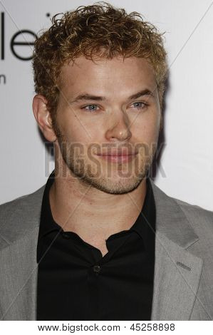 LOS ANGELES - JAN 28: Kellan Lutz at the Calvin Klein Collection & LA Nomadic Division 1st Annual Celebration For L.A. Arts Monthly + Art LA Contemporary on January 28, 2010 in Los Angeles, CA