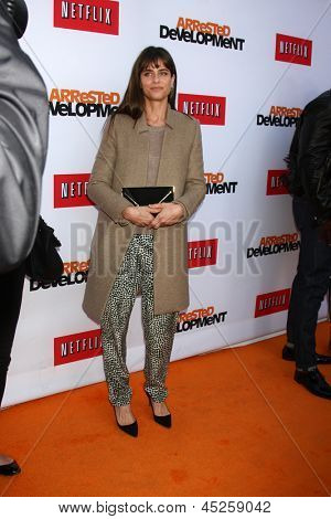 LOS ANGELES - APR 29:  Amanda Peet arrives at the