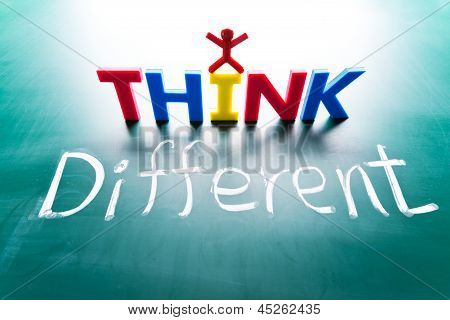 I think different concept
