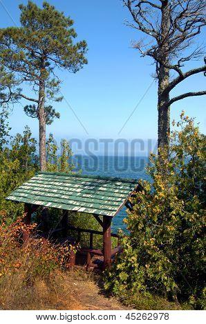 Brockway Mountain Drive Rest Area