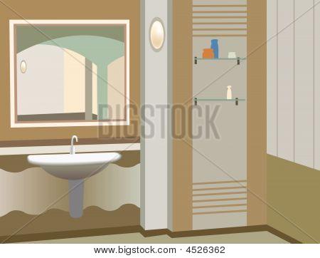 Wash Stand Vektor