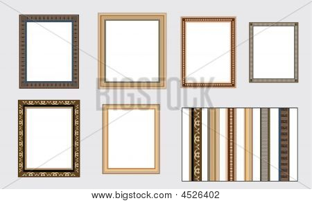 Vector Frames On The Wall