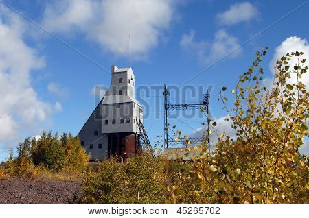 Copper Mine Shaft-rock House