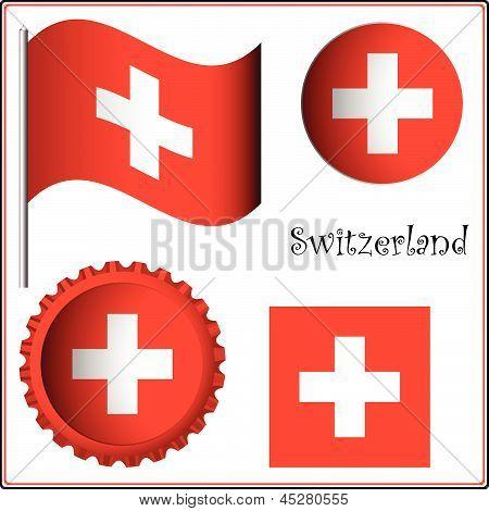 Switzerland Graphic Set