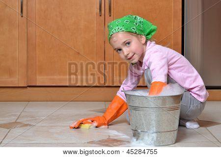 Washing Floor