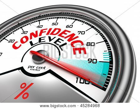 Confidence Level Conceptual Meter