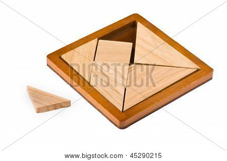 Puzzle With Geometric Shapes
