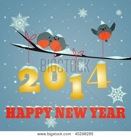 Birdies Happy New Year 2014