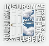 stock photo of insurance-policy  - The words Insurance - JPG