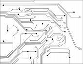 Scheme Electronic Vector poster
