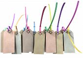 Paper Tag And Colourful Zip Tie Collection