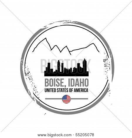 stamp Boise, Idaho