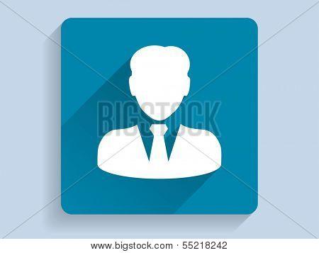 3d Vector illustration of  businessman icon