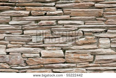 Surface Of Stone Wall