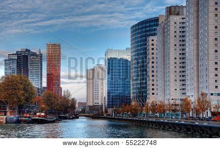 Paisaje urbano de Rotterdam