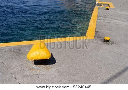 Port Of Skala.