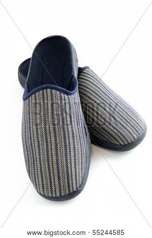 Pair of male slippers
