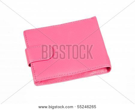 Pink Purse With Snap Fastener