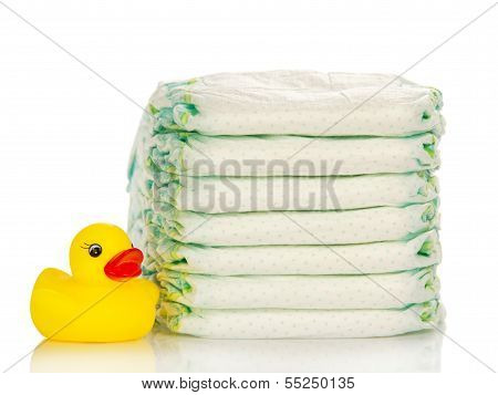 Disposable diapers and the rubber duckling