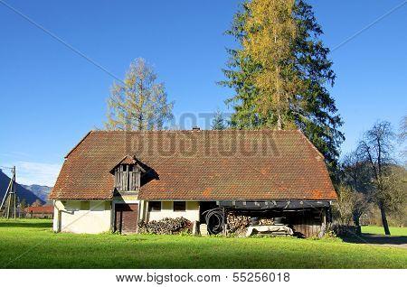 Barn in Austria