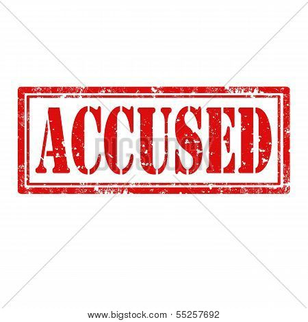 Accused-stamp