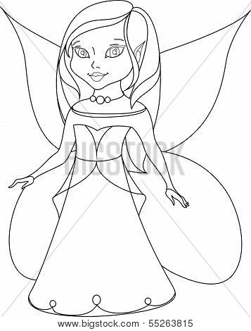 The princess has wings, she is in Graph