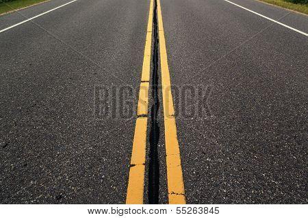 Empty Roadway