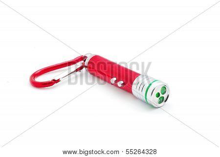 Laser Pointer Flashlight