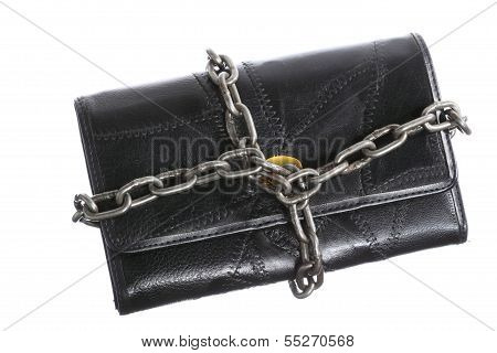 Empty Wallet In Chain - Poor Economy, End Of Spending
