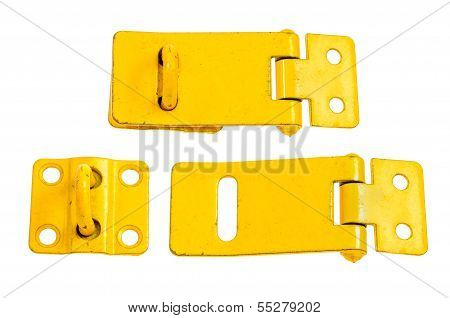 Two Regular Metal Hasp