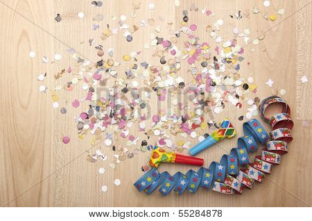 party decoration for silvester
