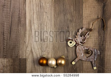 Elk As Christmas Decoration