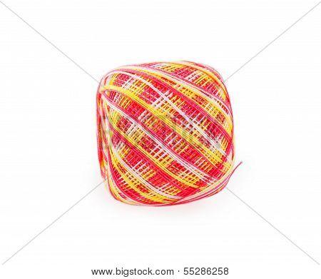 Ball Of Melange Yarn